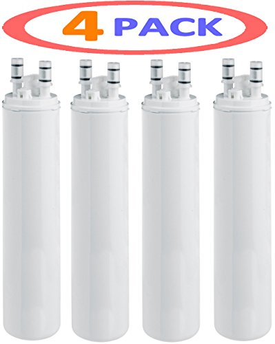 4 PACK FRIGIDAIRE ULTRAWF PURESOURCE WF3CB / KENMORE 46-9999 Refrigerator Water Filter Compatible Genrt Filter by...