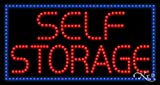 17x32x1 inches Self Storage Animated Flashing LED Window Sign