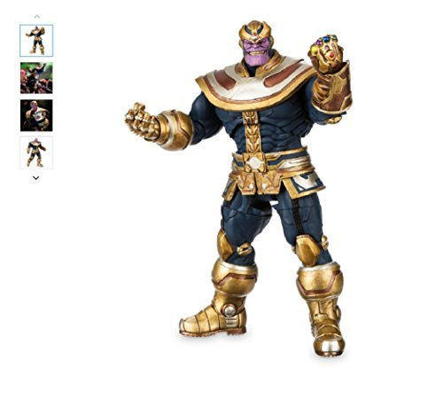 Thanos Disney Action Figure by Marvel Select - 7''