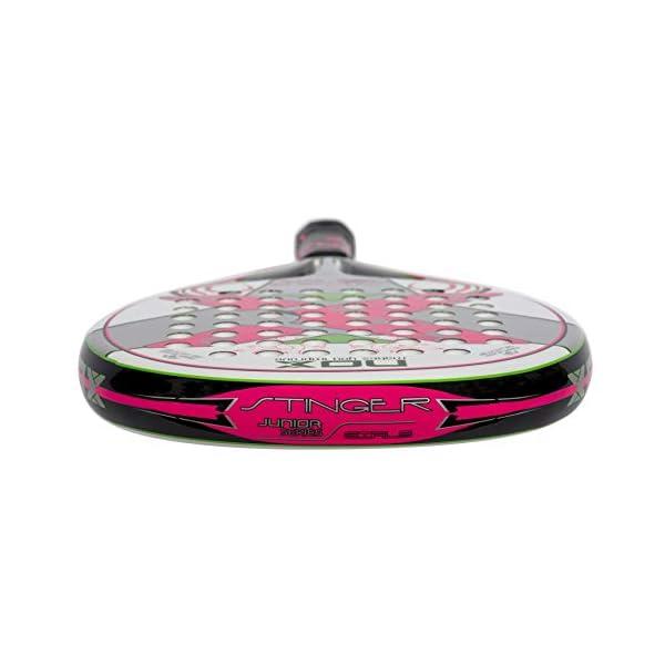 NOX Stinger Jr. 2.1Girls–Racchetta de Paddle, Colore: Rosa 4 spesavip