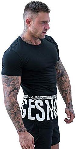 NUASH Verano Más Nueva Marca Muscle Sportswear Hombres Camiseta Gimnasio Gimnasio Algodón Culturismo Crossfit Compresión Hombres Camiseta Tops Camiseta Asiática Tamaño M Negro: Amazon.es: Deportes y aire libre