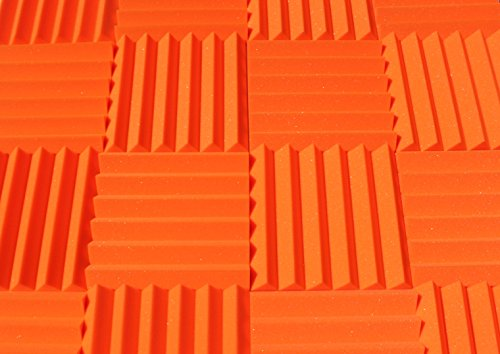 soundproofing-acoustic-studio-foam-orange-color-wedge-style-panels-12x12x2-tiles-4-pack