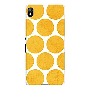 DailyObjects Yellow Polka Dots Case For Sony Xperia Z3 Plus