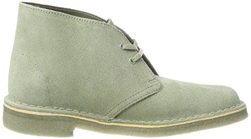 Clarks sage Desert Femme Boots Suede Beige wqP7R0w