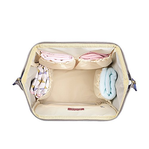 Sunveno Pañal cambiando la mochila de la bolsa de múltiples funciones de gran capacidad pañal del bebé mochila para las mujeres Con colchoneta cambiante