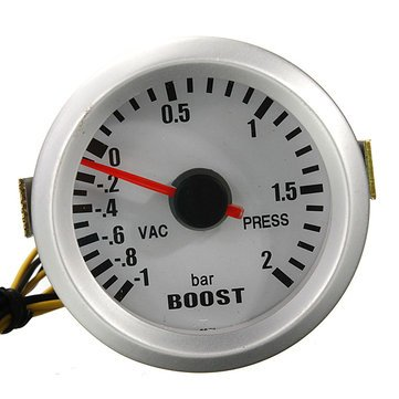 Displays Turbo Boost - Supercharge Gage - Car Auto 52mm Digital Led Boost Gauge Press Vacuum Display - Promote Estimate Rise Guess Encourage Approximate Hike Encouragement - 1PCs