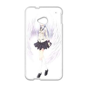 Kanade Tachibana Angel Beats Anime HTC One M7 Cell Phone Case White yyfabc-399665