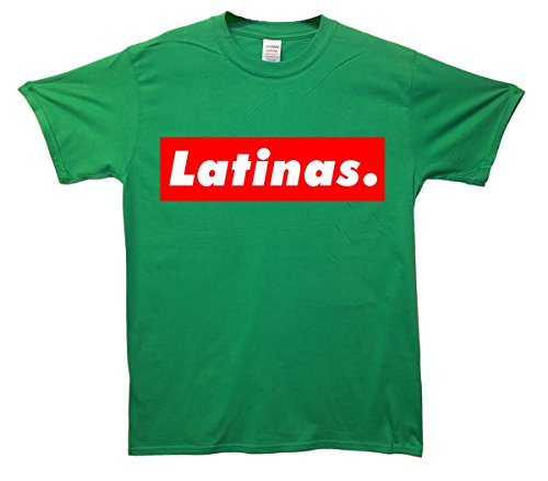 Latinas. T-Shirt - Grün - XX-Large (127cm-132cm)