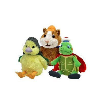 (Beanie Babies Wonder Pets Tuck Linny and Ming - Ming (Pack of 3) )
