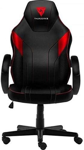 ThunderX3 EC1, silla gaming, tecnología AIR, altura regulable, color rojo: Amazon.es: Juguetes y juegos