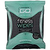 HyperGo Fitness Wipes, Full Body Wipes, Refreshing Mint Scent, Hypoallergenic, All Natural Ingredients
