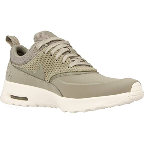 Nike Leather Max Sneakers Vert Femme Basses Air Premium Thea Uwvrx4aqU