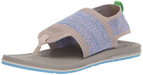 Sanuk Women's Yoga Sling 3 Knit Sandal Cobblestone Multi 09 M US