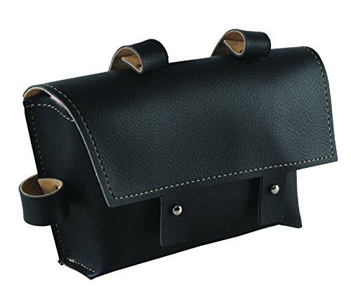 Wag Tasche Vintage Schulterpolster zum Rahmen Kunstleder schwarz (Taschen Vintage City)/Frame Bag Vintage Retro Faux Leather Black (Vintage City Bag)