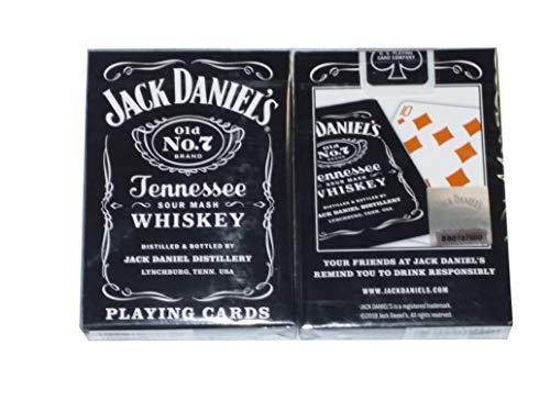 Bicycle Jack Daniels Old No. 7 Tennessee Sour Mash Whiskey Playing Cards (Best Sour Mash Whiskey)