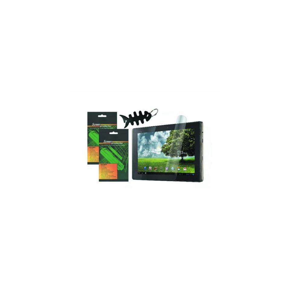 iShoppingdeals   for ASUS Eee Pad Transformer TF101 10.1 Inch Tablet Anti Fingerprint, Anti Glare, Matte Finishing Screen Protector (2 Packs)