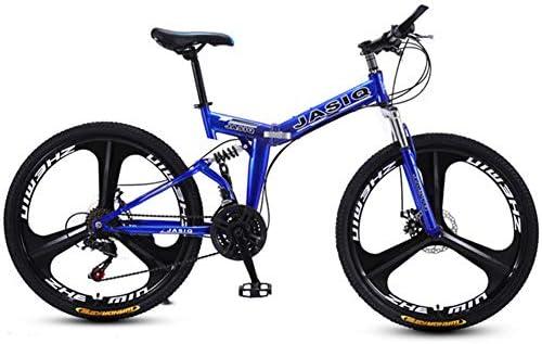 LYXQQ Bicicleta Urbana Plegable, Bicicleta Plegables Adultos 26 ...