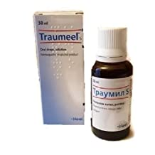Traumeel Oral Drops - Homeopathic Anti-Inflammatory Pain Relief Analgesic30ml