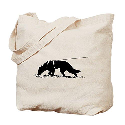 CafePress–pastor Tracker Tote Bag–Natural gamuza de bolsa de lona bolsa, bolsa de la compra
