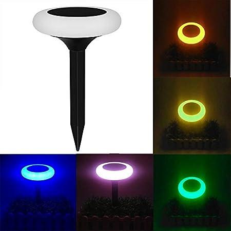 Fealliancement GuoBo Luz LED YY-510 luz Solar Colorida, respetuosa con el Medio Ambiente, lámpara de luz LED para jardín con Panel Solar de Luces LED de 5,5 V/0,72 W para habitación: Amazon.es:
