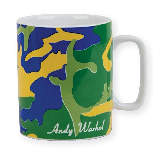 Andy Warhol Green Camouflage Mug
