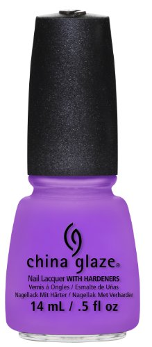 China Glaze Nail Lacquer, That's Shore Bright, 0.5 Fluid Ounce
