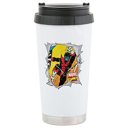 CafePress - Nightcrawler X-Men Stainless Steel Travel Mug -