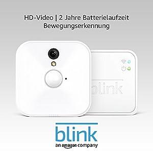 Blink System für Videoüberwachung, für den Innenbereich, mit Bewegungserkennung, HD-Video, 2Jahre Batterielaufzeit, inkl. Cloud-Speicherdienst, Ein-Kamera-System