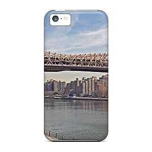 Fashionable FEDBlbK8567GKFns Iphone 5c Case Cover For Williamsburg Bridge Suspension Bridge New York Protective Case by lolosakes