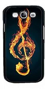 HeartCase Hard Case for Samsung Galaxy S3 I9300/I9308/I939 ( Treble Clef Music ) by ruishername