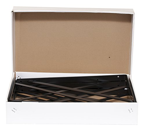 Decko 49152 Heavy Duty Shelf Bracket, 19.25-Inch by 12.50-Inch, Black, 10-Pack by Decko (Image #3)