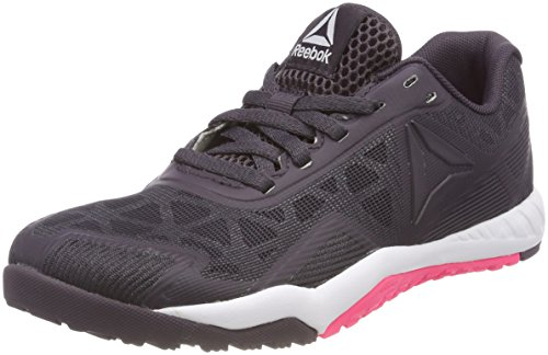 Workout smoky Gris 0 000 Reebok De Ros white acid Chaussures Pink Fitness 2 Volcano Tr Femme vqzz5SnwF