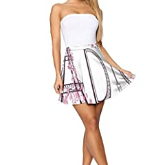 Applicable people: Ms., with a shirt or T-shirt, is a wild model. Suitable for parties, dating or going out.Size Waist (cm) Skirt length (cm)S 68cm 40cmM 72cm 42cmL 76cm 44cmXL 82cm 46cm