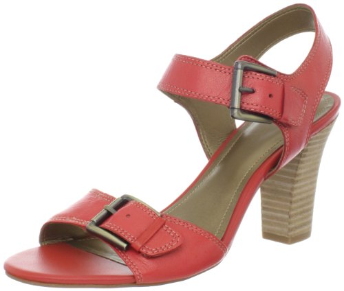 Circa Joan David Sandals (Circa Joan & David Women's Jamine Wedge Sandal,Red,8 M US)