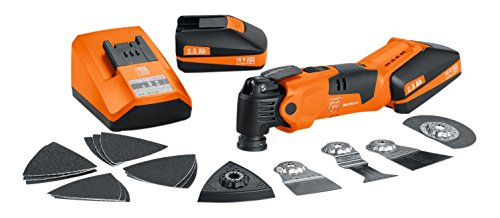 FEIN 71292261240 Multi-Master Cordless Drill, Orange, 18 V