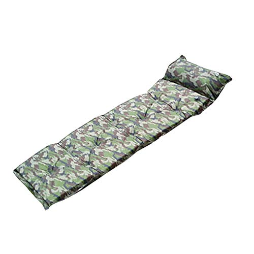 Lounger Camo - yanQxIzbiu Inflatable Lounger Air Sofa, Single Self Inflating Outdoor Camping Roll Inflatable Bed Sleeping Mattress Camo