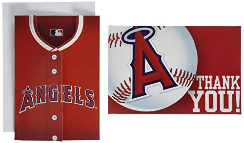 Los Angeles Angels Major League Baseball Collection Party Invitation & Thank You Card Set, 192 Ct.]()