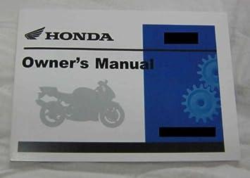 Amazon com: Honda Factory Owners Manual / 1981 C70 Passport