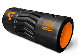 Fitvana Zag Technology Hollow Foam Roller for massage Therapy (13-inch)
