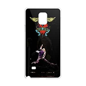 Happy Bon Jovi Heart And Dagger Logo Cell Phone Case for Samsung Galaxy Note4