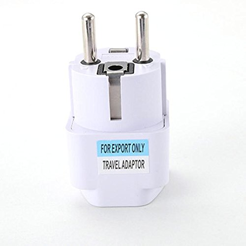 UMFunUniversal UK US AU to EU AC Power Socket Plug Travel Charger Adapter Converter -