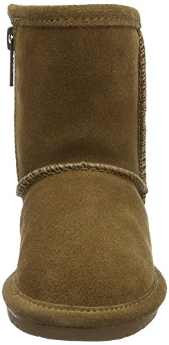 Kids' Zipper Calf Boot Hickory BEARPAW Mid Toddler Emma 1q16Bd