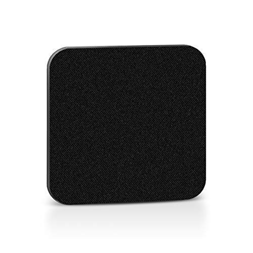 Mini Webcam Cover (1 Pack, Black) - NanoTech Strong Adhesive Web Camera Protector for Laptops, Smartphones, Tablets and Desktop Computers - Gentle on Your Devices - Protect Your Privacy & Security