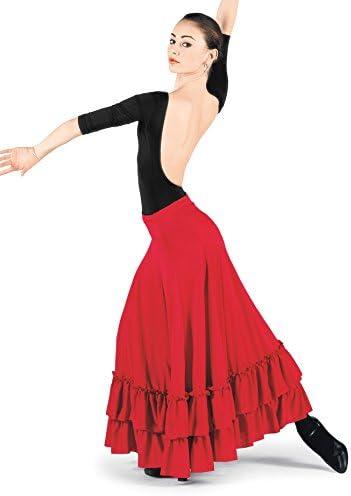 Bal Togs Falda de flamenco para adultos para mujer