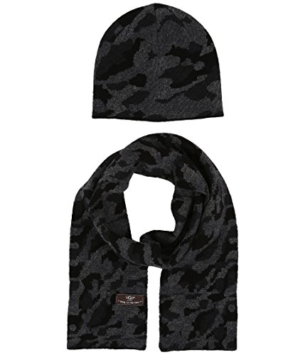 Used, UGG Kids Unisex Camo Beanie and Scarf Boxed Set (Toddler/Little for sale  Delivered anywhere in USA