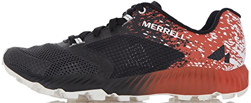 Merrell Men arancio For nero Shoes piccante Multicolore Walking rtwUSr