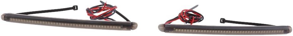 Fourche 43mm-46mm SDENSHI 2pcs Feux de Clignotants LED Clignotant de Fourche Avant pour Yamaha