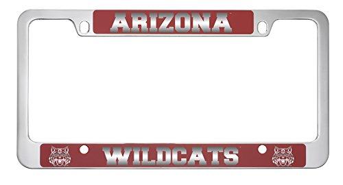 (University of Arizona -Metal License Plate Frame-Red)