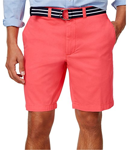 Club Room Mens Flat Front Comfy Casual Shorts Pink 40 from Club Room