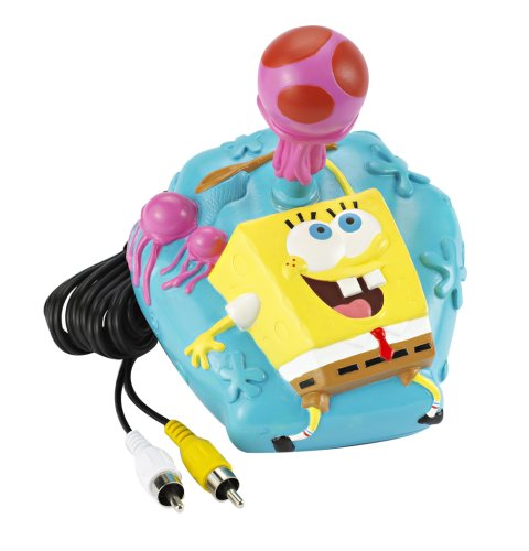 Jakks SpongeBob Squarepants Jellyfish Dodge Plug & Play TV Game